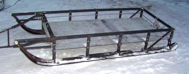 Сани волокуши на снегоход своими руками