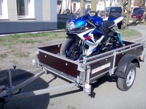 Транспортировка мотоцикла
