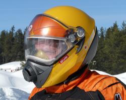 Снегоходный шлем