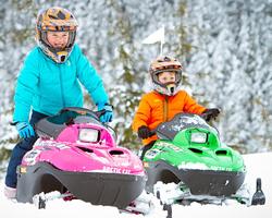 Детский шлем для снегохода