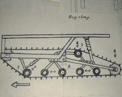 План самодельной задней подвески