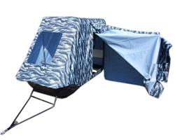 Сани-волокуши с тентом-кабиной