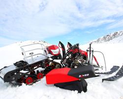 Разобранный снегоход Irbis Dingo