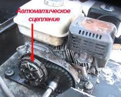 Двигатель-автомат для мотобуксировщика