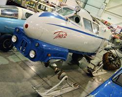 Самодельный снегоход с корпусом от Ил-28