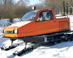Снегоход с кабиной «Беркут»