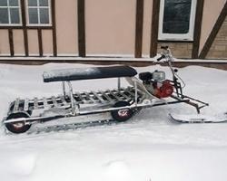 Мини снегоходы своими руками видео 68