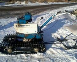 Снегоходный модуль для мотоблока