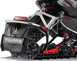Задняя подвеска снегохода Polaris