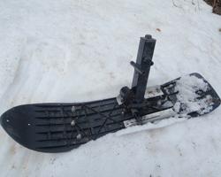 Рулевая лыжа для самодельных снегоходов