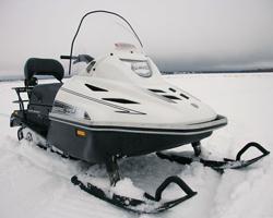 Белый снегоход «Тайга Варяг 550»