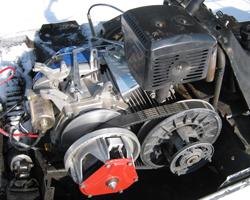 Бензиновый двигатель с вариатором