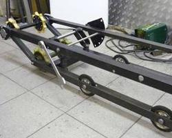 Рама ходовой части мотобуксировщика