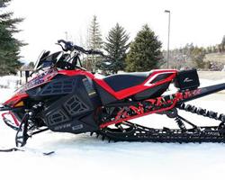 Снегоход Yamaha после тюнинга