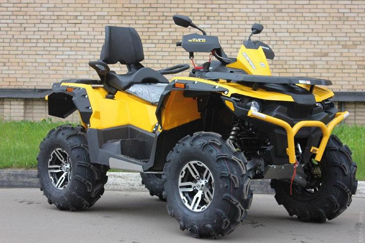 квадроцикл стелс, Stels ATV 800 Guepard ST