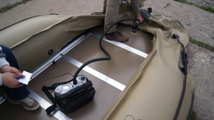 электрические насосы для лодки