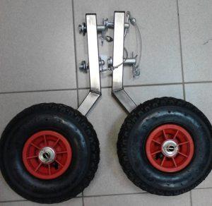 транцевые колеса на шпильке для лодки пвх