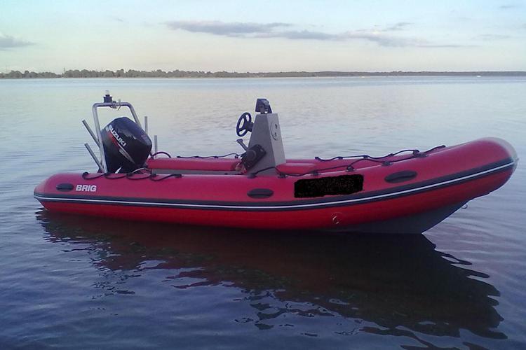лодка риб BRIG Falcon F500