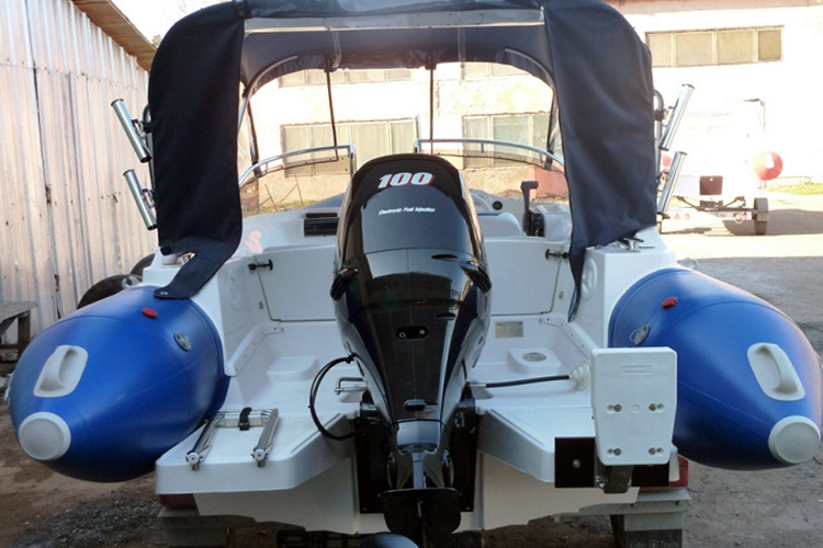 лодка риб Skyboat SB 520RT, двигатель