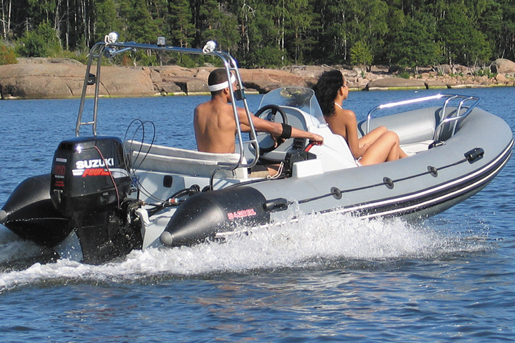 лодка риб Мустанг MS-450H