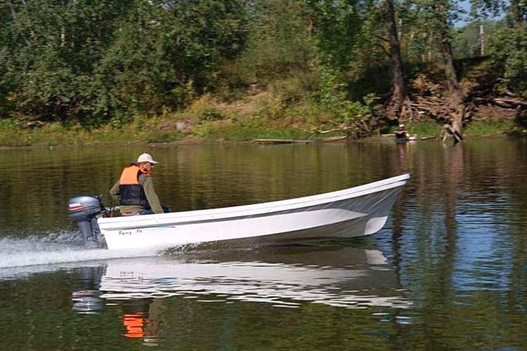 лодка Бриз-14S