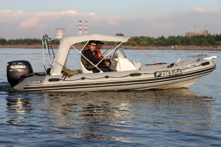 лодка риб Буревестник B-530