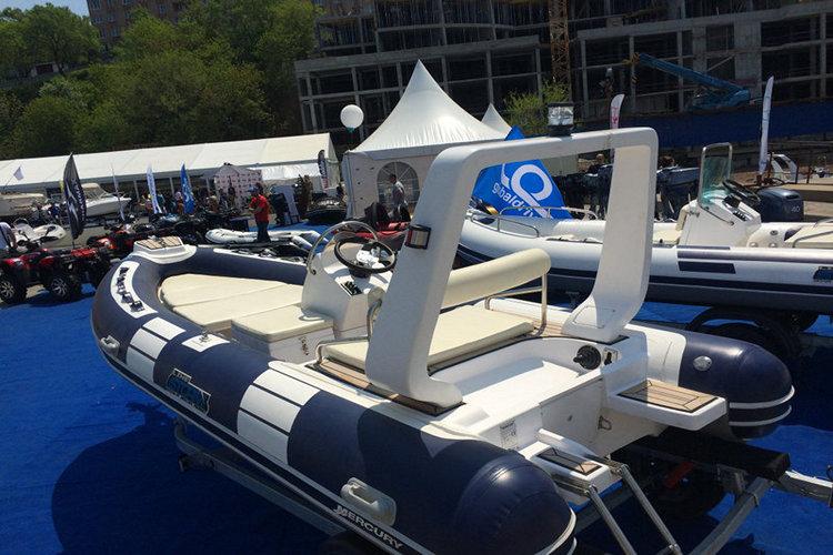 лодка Mercury РИБ 500 Luxe River Drive