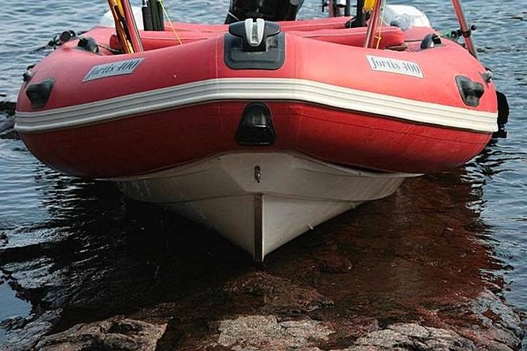 лодка RIB FORTIS 450T, килеватость днища