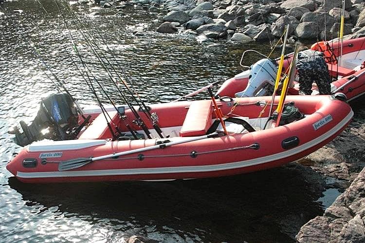 лодка RIB FORTIS 450T