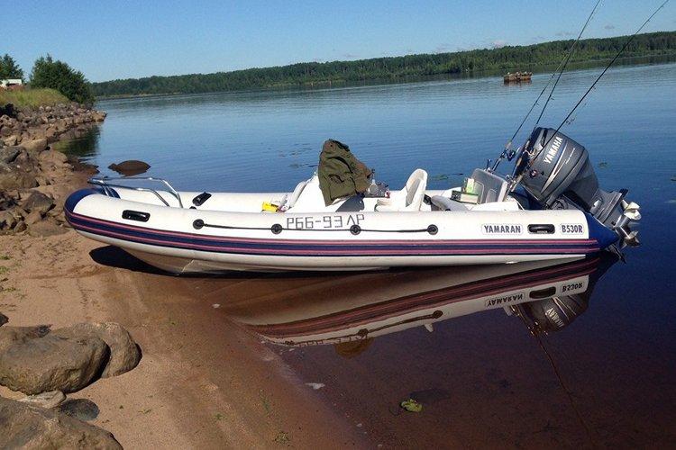 лодка риб Yamaran B530R