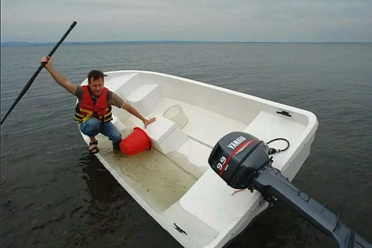 лодка Бриз-14S, запас непотопляемости