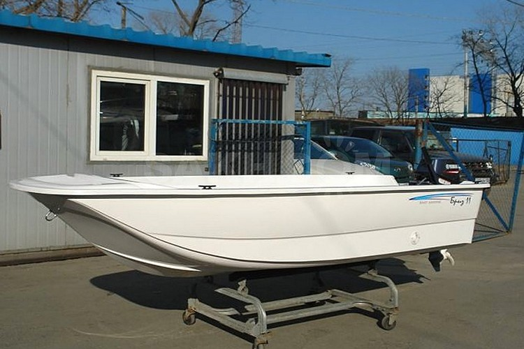 лодка Бриз-11, габариты