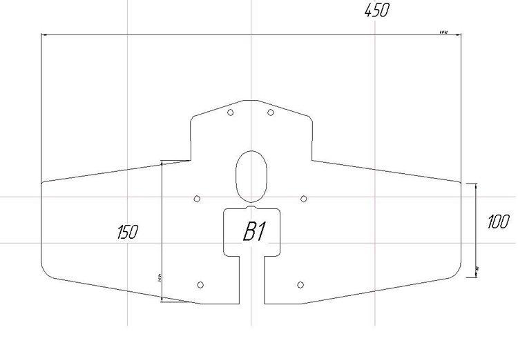 гидрокрыло для лодочных моторов своими руками, чертеж